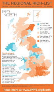 IPPR North map