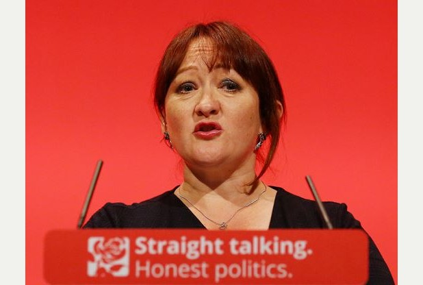 Kerry McCarthy, Shadow Secretary of State for Environment, Food and Rural Affairs, delivers her speech during the third day of the Labour Party conference at the Brighton Centre in Brighton, Sussex. PRESS ASSOCIATION Photo. Picture date: Tuesday September 29, 2015. See PA LABOUR stories. Photo credit should read: Gareth Fuller/PA Wire