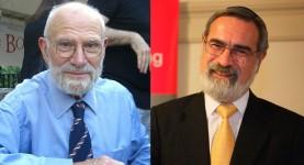 Oliver Sacks and Jonathan Sacks