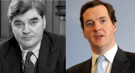 Nye Bevan and George Osborne