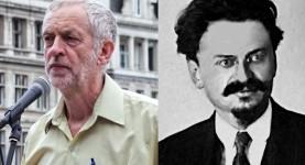 Corbyn Trotsky