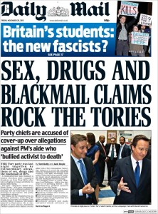 Daily Mail 20 11 15