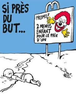Charlie Hebdo refugees