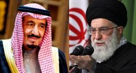 Saudi King Salman and Iranian Ayatollah Khameini