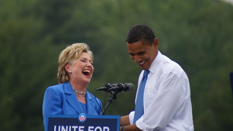 Obama Hillary lol