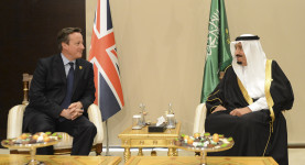 David Cameron and the King Salman meet for talks at the G20 Summit.David Cameron and the King of Saudi Arabia Salman meet for talks at the G20 Summit.