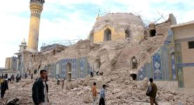 Golden Dome mosque bombed