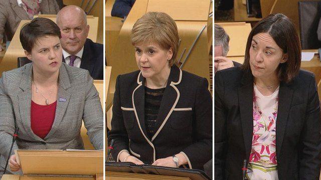 Scotland leaders