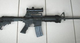 AR15 assault rifle
