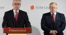Boris Johnson Michael Gove vote leave