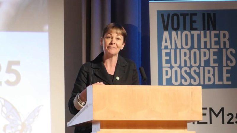 Caroline Lucas Another Europe EU
