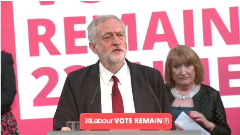 Jeremy Corbyn Remain