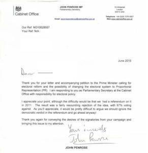 Penrose letter