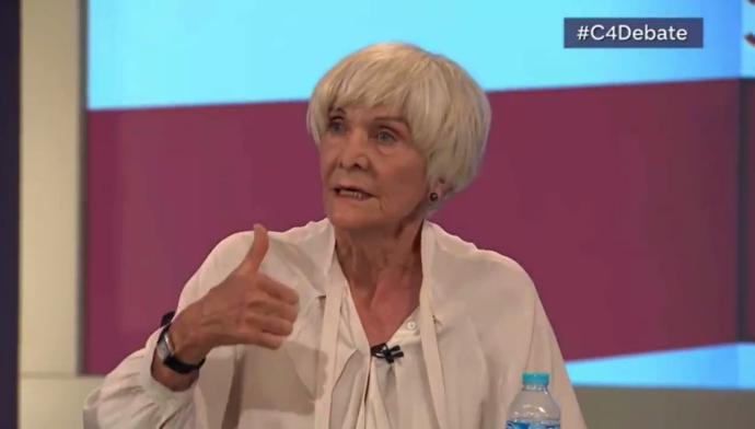 Sheila Hancock EU