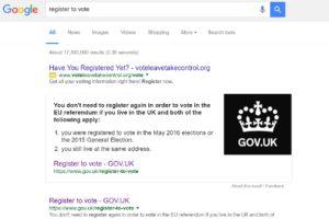 Vote Leave register 2