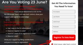Vote Leave register