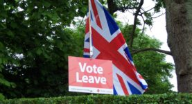 vote leave poster