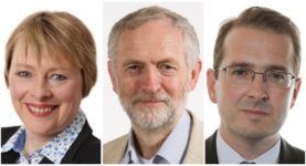 Angela Eagle Jeremy Corbyn Owen Smith