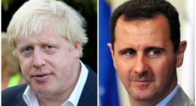 Boris Johnson Assad