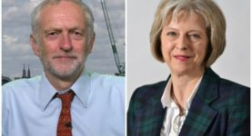 Jeremy Corbyn Theresa May