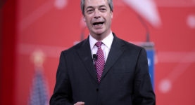 Nigel Farage smile