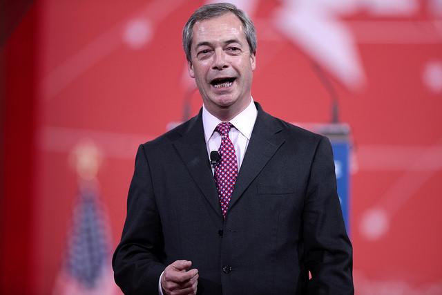 Nigel Farage smile