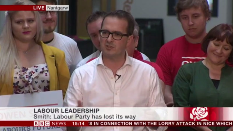 Owen Smith campaign launch