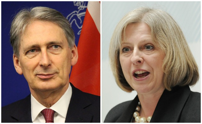 Philip Hammond Theresa May