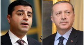 Selhattin Demirtas and Erdogan