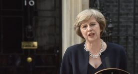 Theresa May Number 10 Prime Minister BBC