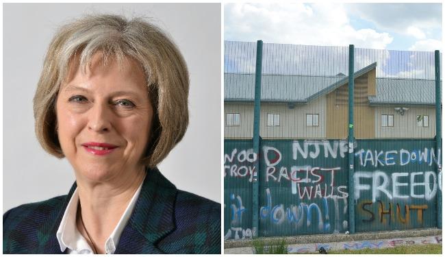 Theresa May Yarl's Wood