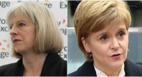 nicola and theresa