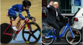 Boris and Laura Trott