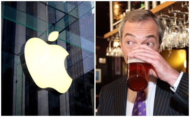 Farage Apple