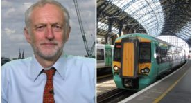 Jeremy Corbyn Southern Rail