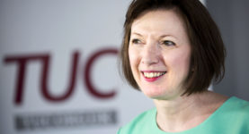 Frances O'Grady, TUC General Secretary.  © Jess Hurd/reportdigital.co.uk Tel: 01789-262151/07831-121483   info@reportdigital.co.uk   NUJ recommended terms & conditions apply. Moral rights asserted under Copyright Designs & Patents Act 1988. Credit is required. No part of this photo to be stored, reproduced, manipulated or transmitted by any means without permission.