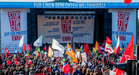 foodwatch, STOP TTIP CETA 10.10.2015 Belin