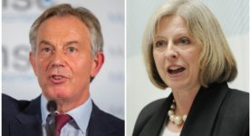 Tony Blair Theresa May
