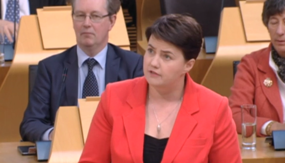Davidson backs critics of plan for hard Brexit