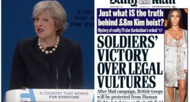 Theresa May Daily Mail