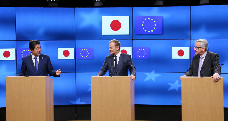 European Union commission proposes completion of trade deals with Japan, Singapore