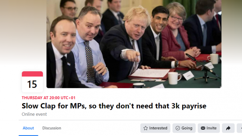 clap for MPs