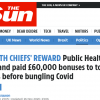 The Sun and 'Taxpayers Alliance' try to scapegoat public health bosses